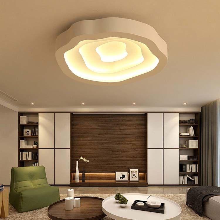 68W 81W LED Design Deckenleuchte Dimmbar Lampe Wohnzimmer Schlafzimmer 6810   eBay