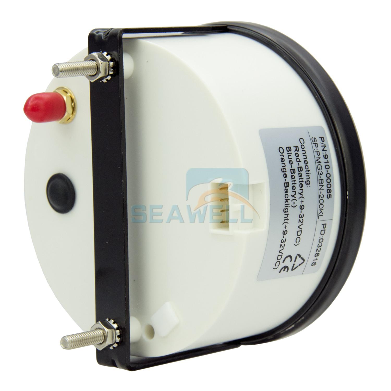 Analogue Gps Speedometer 200km H Car Truck Motorcycle Boat Odometer Speedometers Speed Sensor Vdo Gauge 85mm