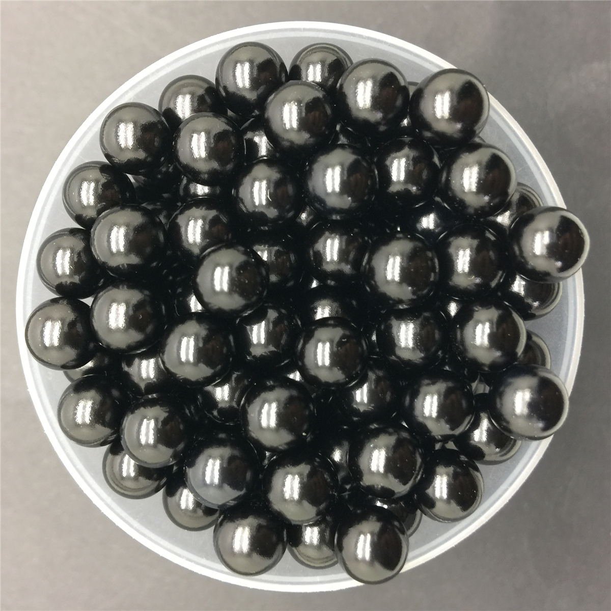 NEW DIY 6mm 100PCS Creamy Acrylic No Hole Round Pearl Loose Beads Jewelry Making