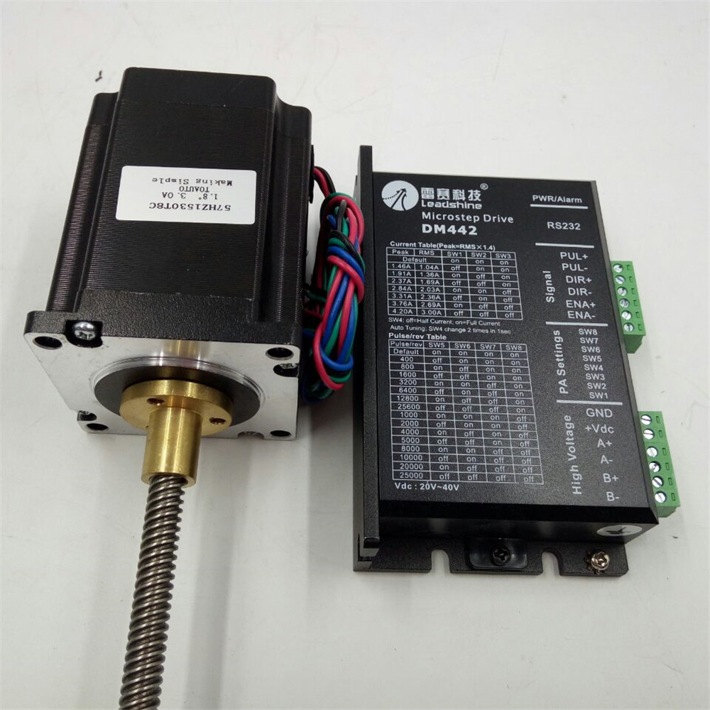 Linear Stepper Drive Motor Kit Nema23 2 Phase 18nm Tr88 150mm For Tr8 Wiring Diagram 3d Printer