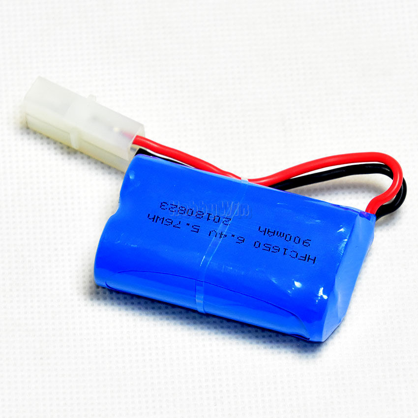 6 4v 2s 900mah Life Battery Big Tamiya Plug For Rc Racing