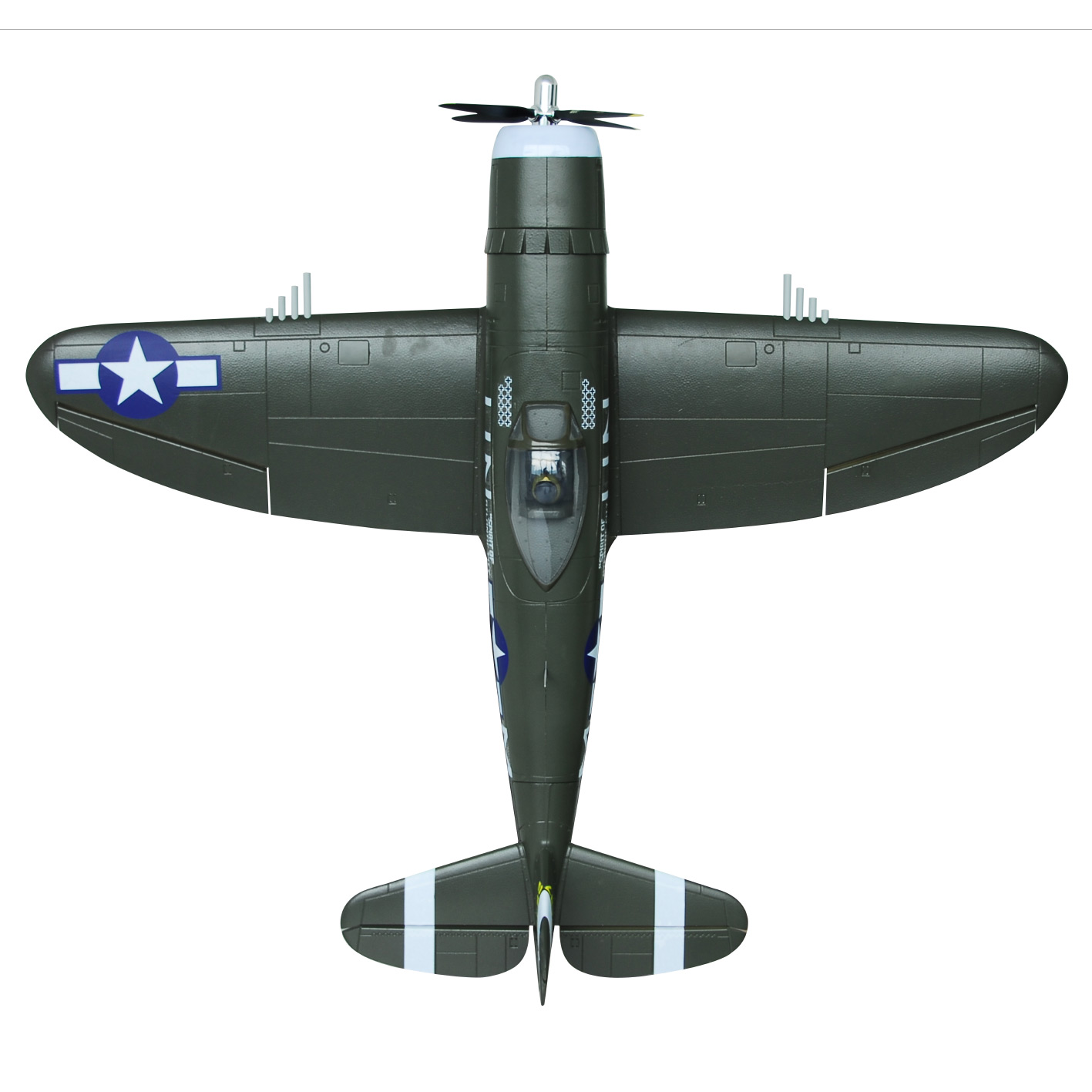 Details about FMS HOBBY P47 EPO 1400mm RC Model Airplane Warbird KIT  without electronic part