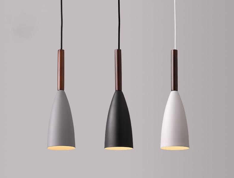 Modern Single Head Suspension Pendant Lamp Dining Room Hanging Light Chandeliers