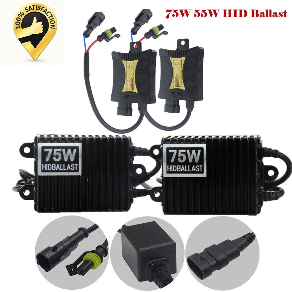 75W AC HID Ballast Replacement Slim for Lamp Xenon Light Conversion