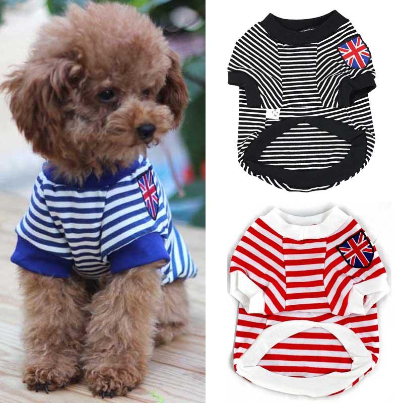 Dog T Shirt for Extra Small Medium Breeds Pet Puppy Cat Clothes Summer Apparel