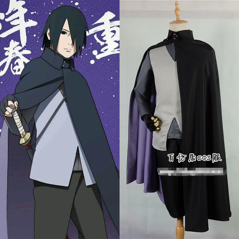 Japanese Anime Boruto Sasuke Uchiha Cosplay Costume Unisex Clothing Outfit Y.119