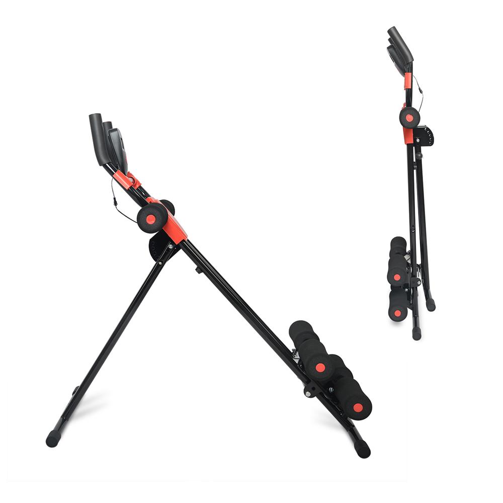 Ab Cruncher Abdominal Trainer Glider Machine Body Fitness Waist Power Exercise 10