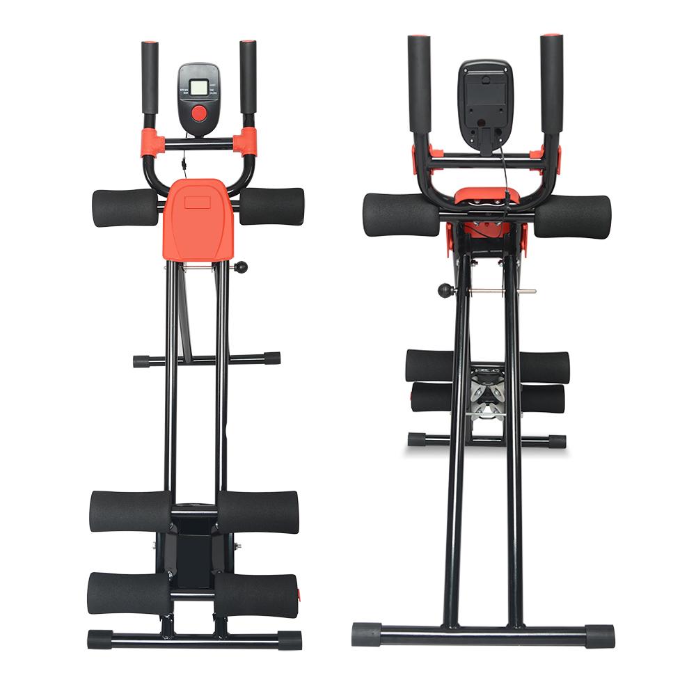 Ab Cruncher Abdominal Trainer Glider Machine Body Fitness Waist Power Exercise 5