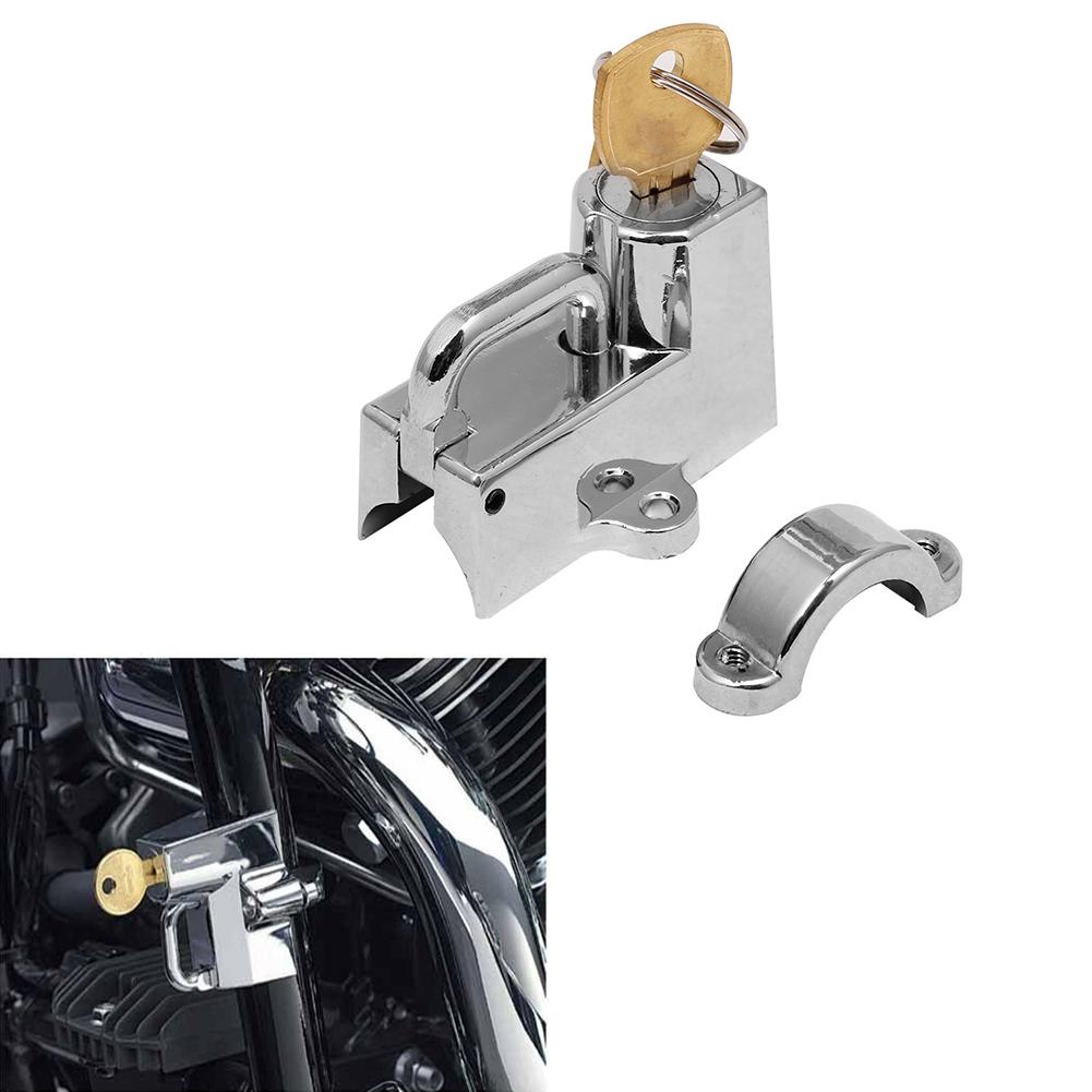 Handlebar Helmet Lock for Harley Davidson Fatboy Heritage Softail Dyna Classic