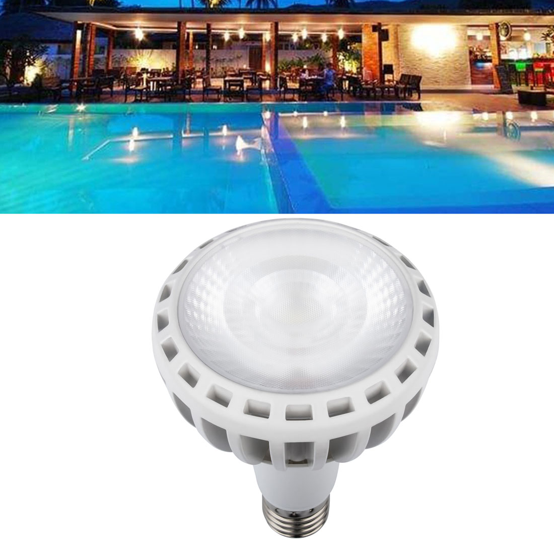 Details about COB Technology 120V Underwater Swimming Pool LED Light Bulb  For Pentair Hayward