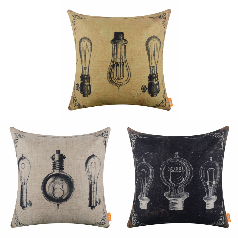 Indian Motorcycle Motorbike Cushion Covers Pillow Cases Home Decor or Inner
