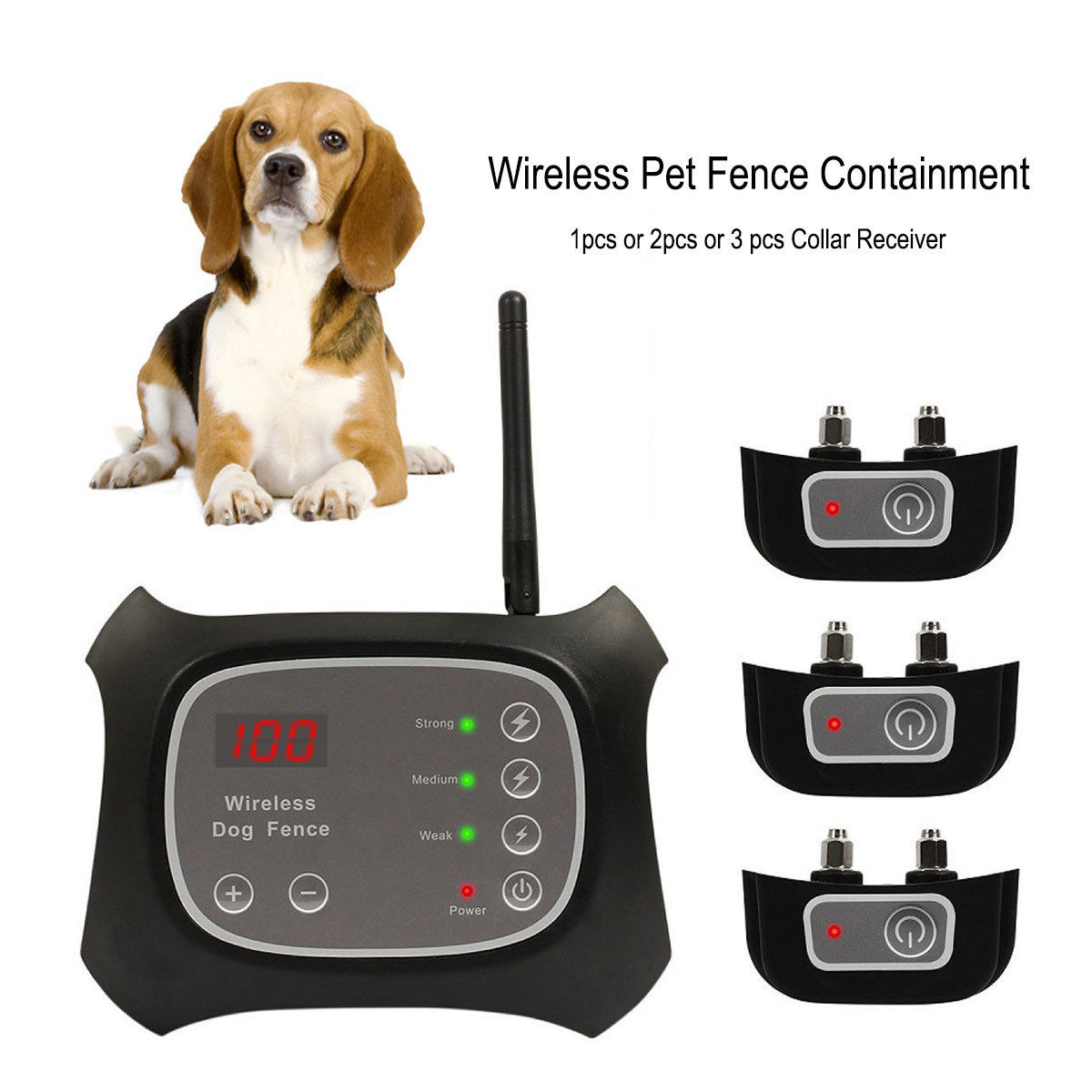 wireless dog fence pet containment system waterproof 123 dogs ky