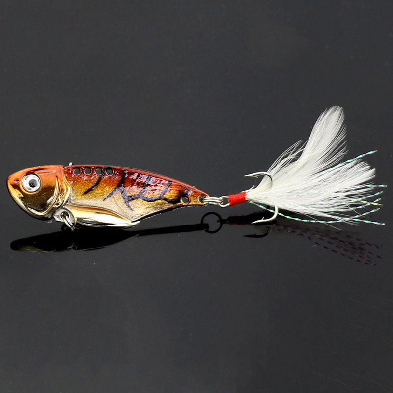 New Fishing Lure Metal VIB Hard Walleye Bait Fishing Saltwater Tackle RF