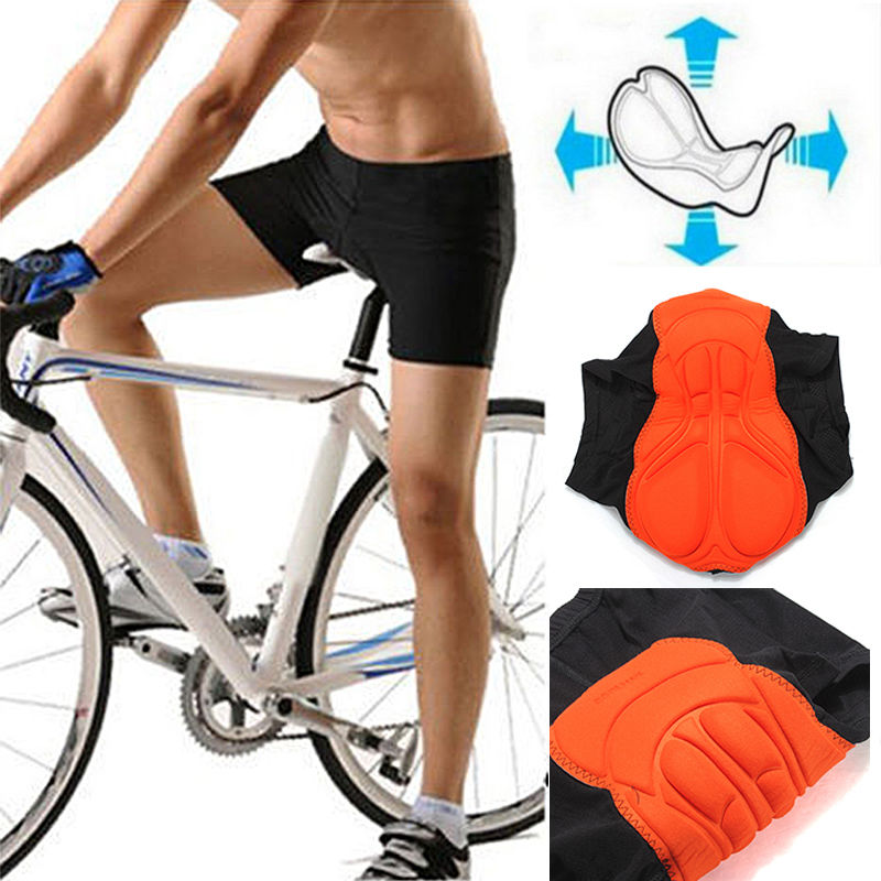 Sports Men/'s Padded Bicycle Cycling Underwear Shorts Sponge Gel Breathable