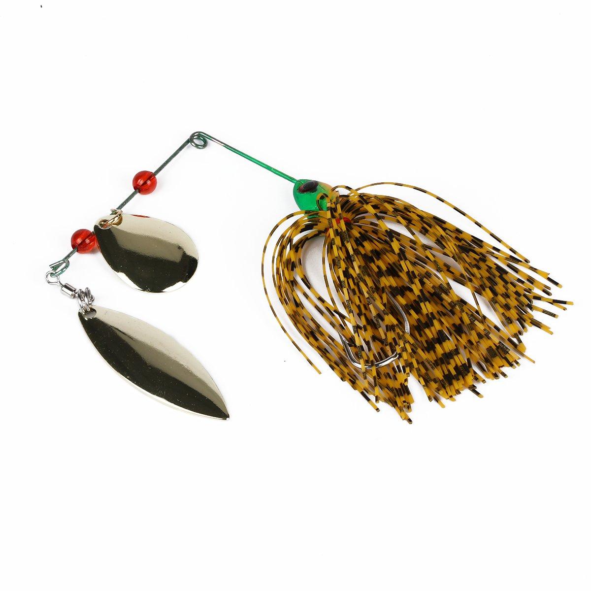 chatter Walleye Buzzbait  bass pike walleye spinner bait Beard fishing lure