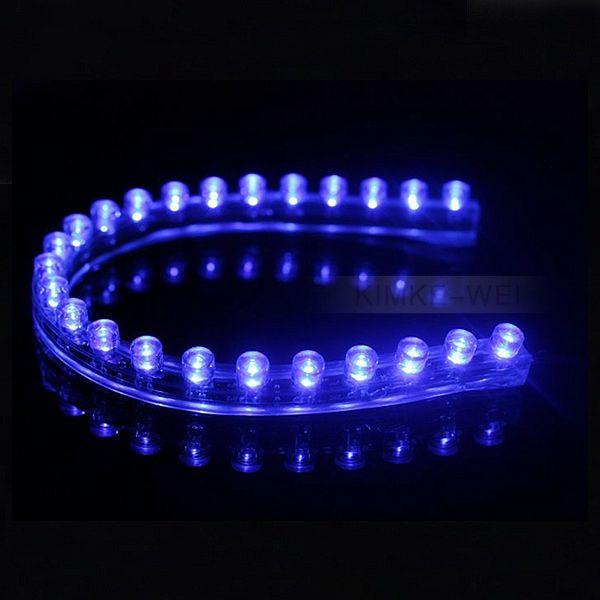24cm Blue Led Flexible Neon Strip Light