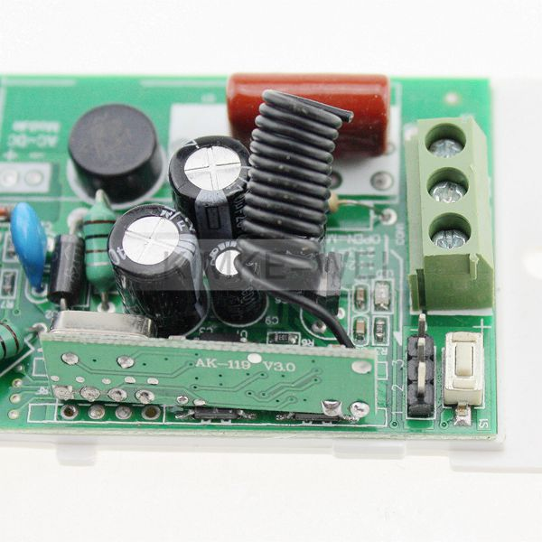 2 Channel AC RF Wireless Remote Control Module 433MHz | eBay