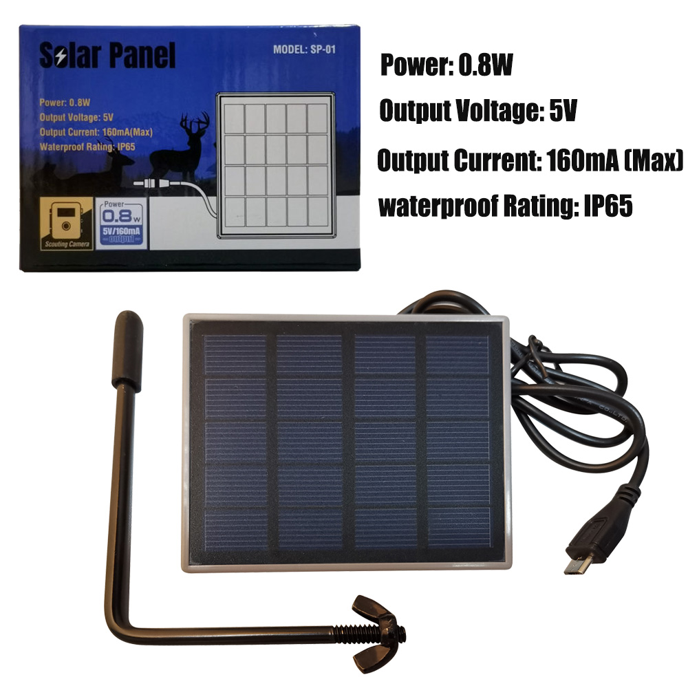 Solar Panel Trail Game Camera Solar Charging Bank Fr Bolyguard Bg310 Bg662 Bg636 Ebay