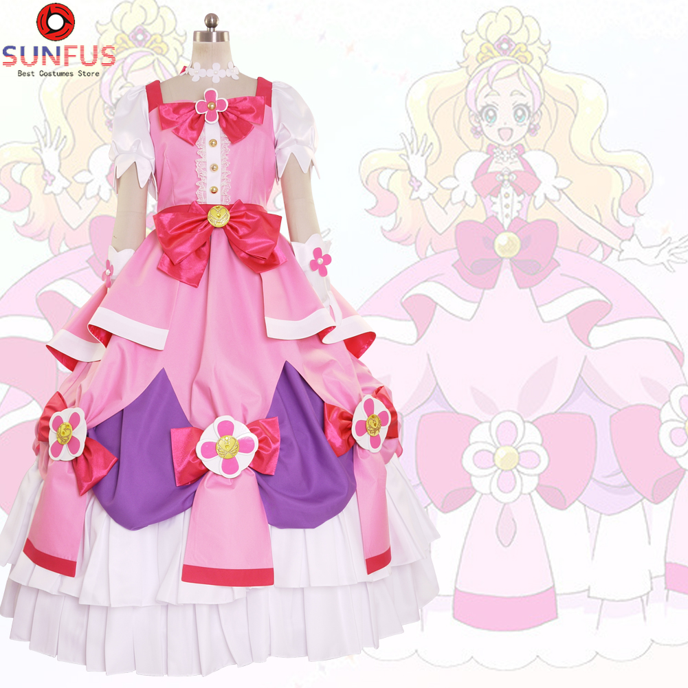 Details about halloween womens go princess precure cure haruno haruka party  dress cosplay jpg 1001x1001 Precure cc857dbfbd6a