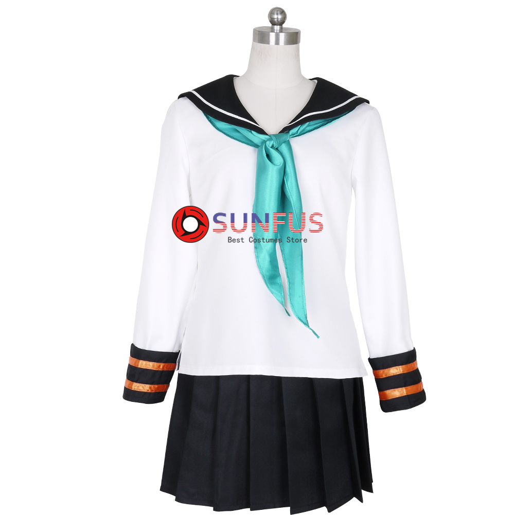VOCALOID Snow Witch Miku Hatsune Dress Outfit Cosplay Costume Full Set