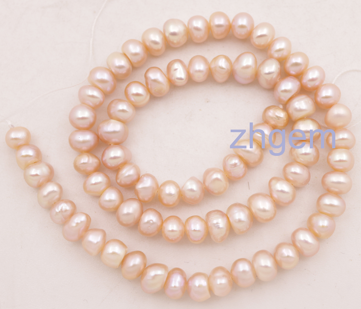 Natural Cultured White Pink Purple Freshwater Pearl Loose Beads 6-7mm For Diy Jewelry 14 Fine Jewelry