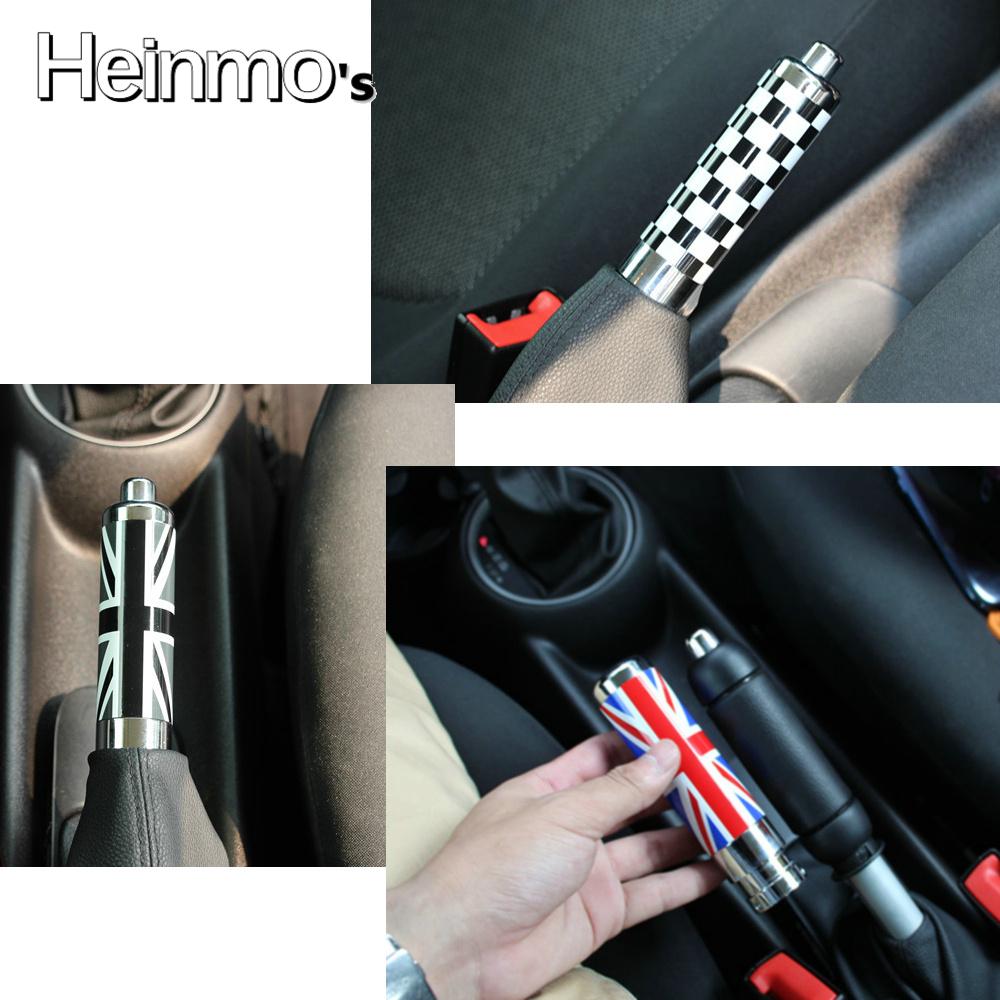 Car Tuning Styling Handbrake Handles Union Jack Flag Hand Brake