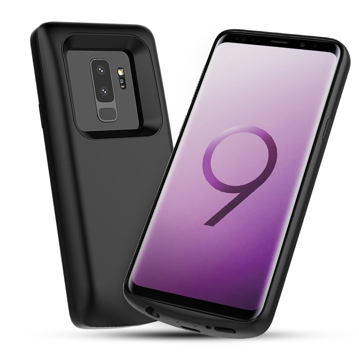 Samsung Galaxy S9 S9 Plus Battery Charger Case 5200mah External