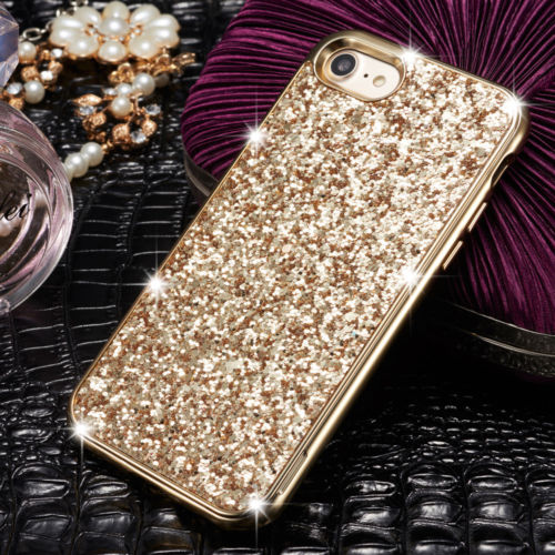 Vogue Luxury Bling Glitter Sparkle Slim Cover Case For iPhone X Max 6 7 8  Plus 98d75139a