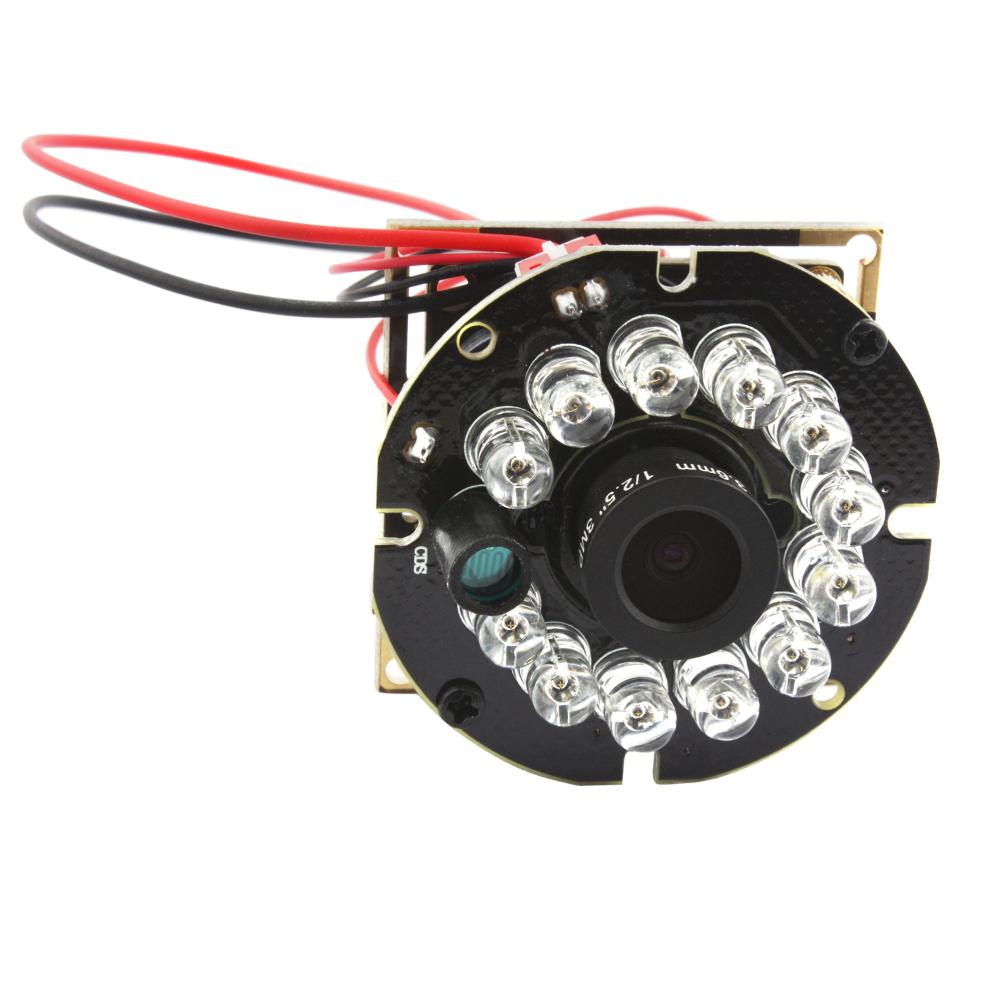 1080P Night Vision Camera IR 12LED Board for Raspberry Pi MJPEG 30fps 8mm Lens
