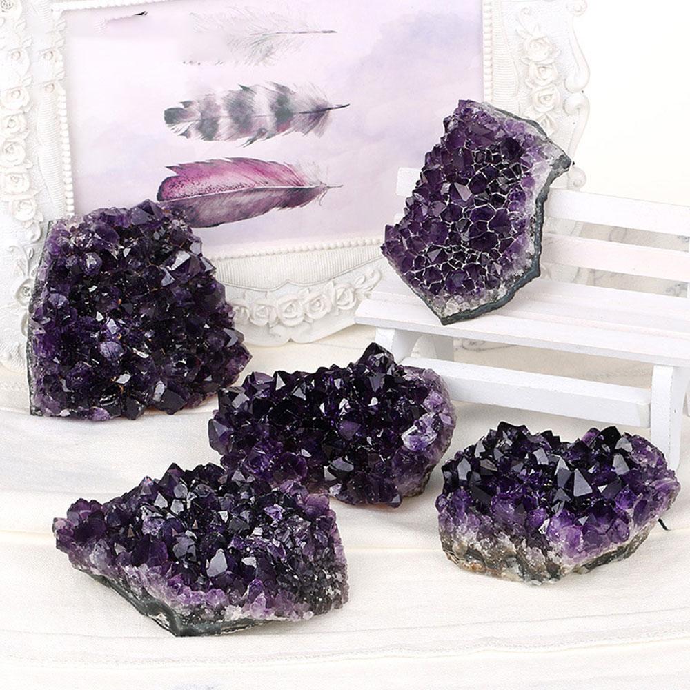 Sparkly Crystal Druzy Geode Amethyst Geode Amethyst Crystal Decor Black Galaxy Amethyst Geode Crystal Druzy Amethyst Decor Black Crystal A25