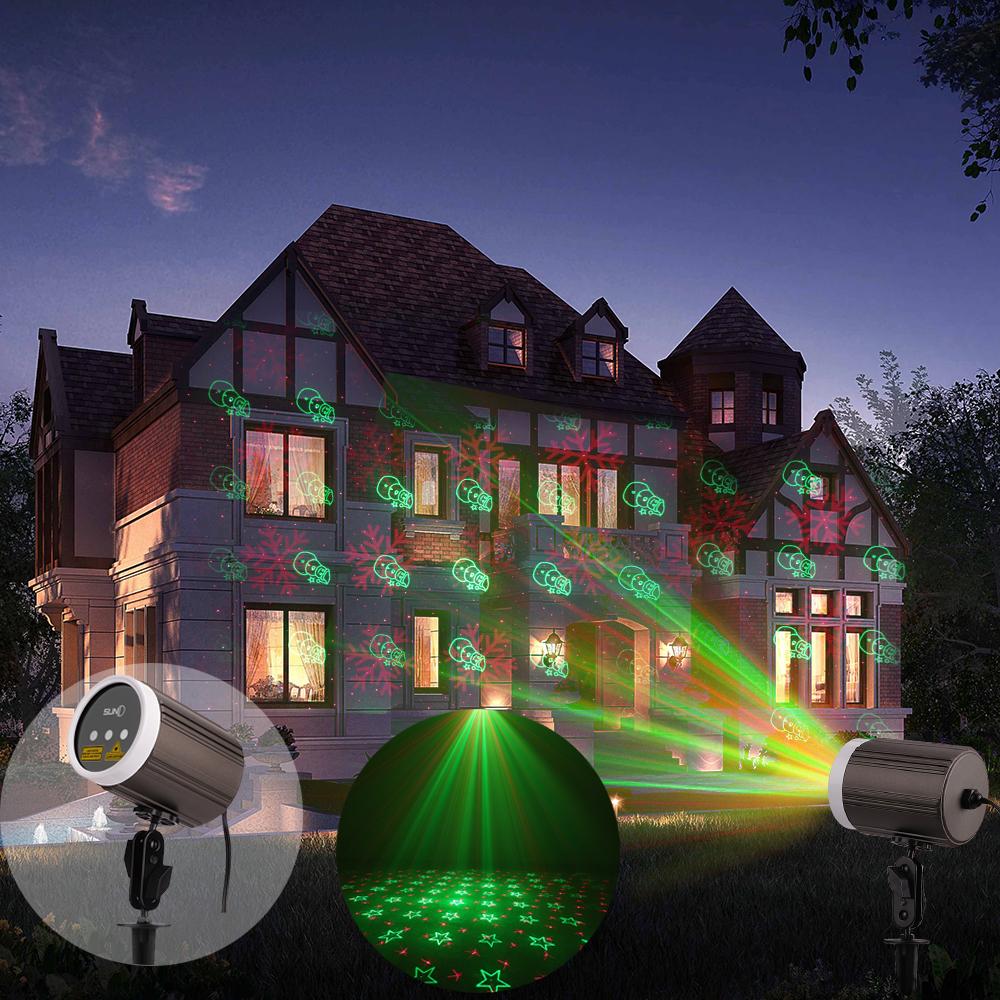 Laser projector lamp home garden light outdoor wall pool for Outdoor deko