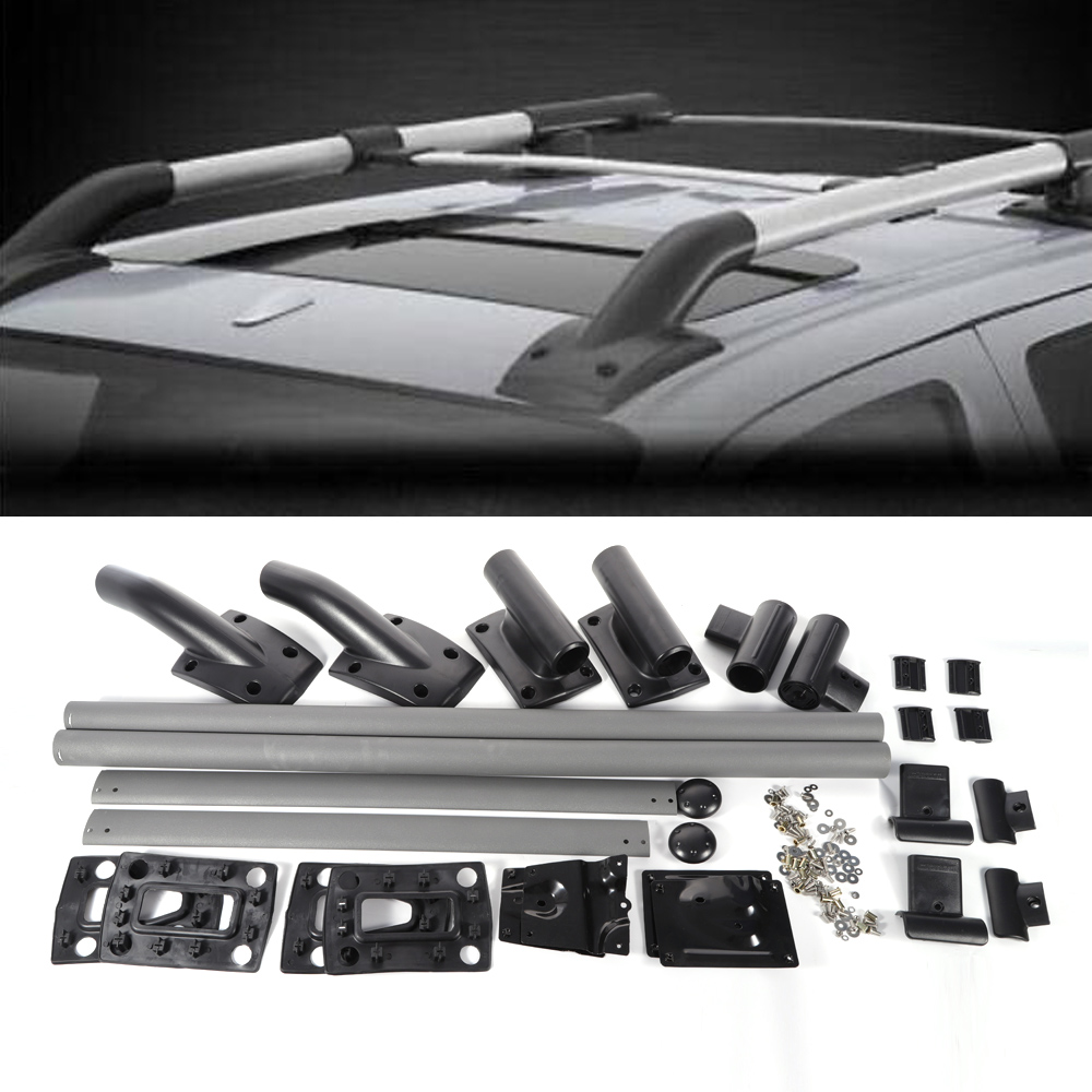 Roof Rack Cross Bar Rails Set Luggage Carrier fit for 05-17 Nissan Frontier  4dr
