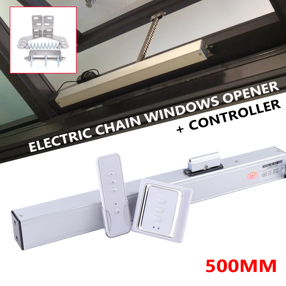 Olide Automatic Electric Chain Windows Opener Motor Actuator SD500