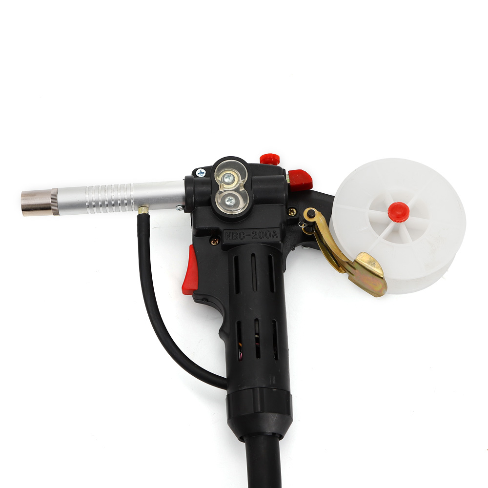 MIG Welder Spool Gun Push Pull Feeder Aluminum Welding Torch With 2M Wire Cable