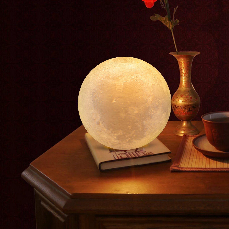 3d magical printed moon lamp moon light night light usb led line 3d magical printed moon lamp moon light night light usb led line table lamp 9cm arubaitofo Gallery
