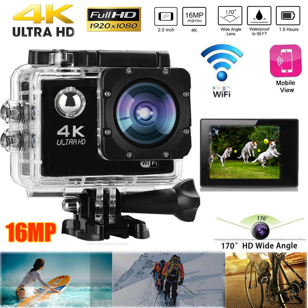 sport kamera action cam ultra hd wasserdicht helmkamera. Black Bedroom Furniture Sets. Home Design Ideas