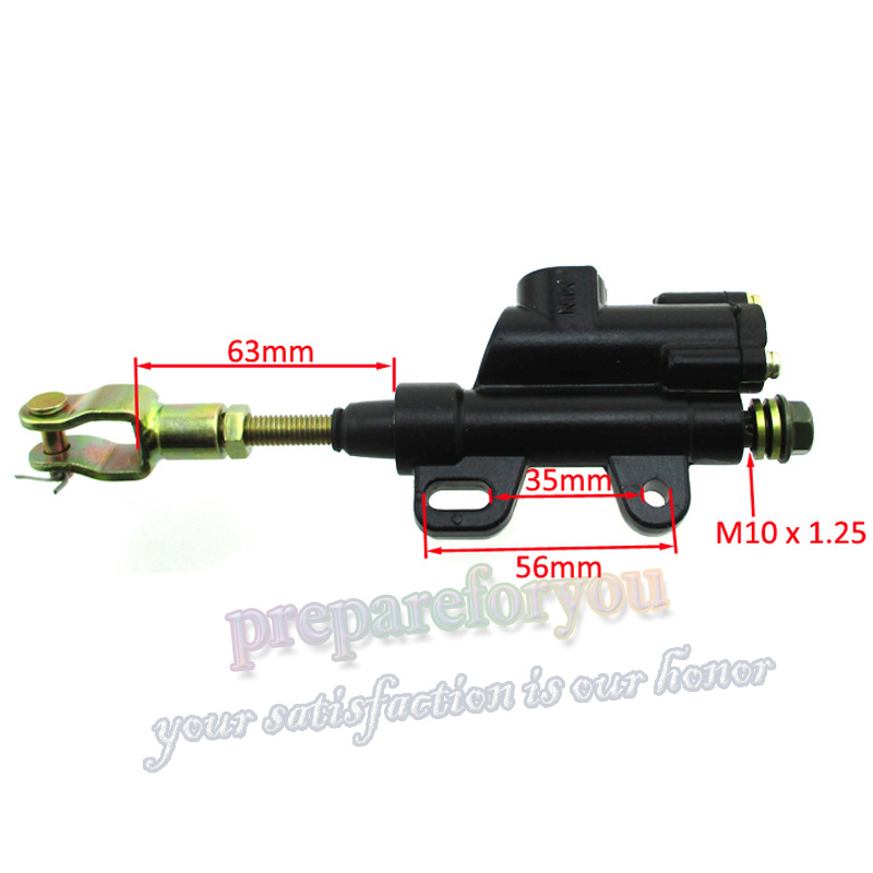 ATV QUAD Brake Master Cylinder Left Side 70CC 90CC 110CC 125CC 150CC H BK37