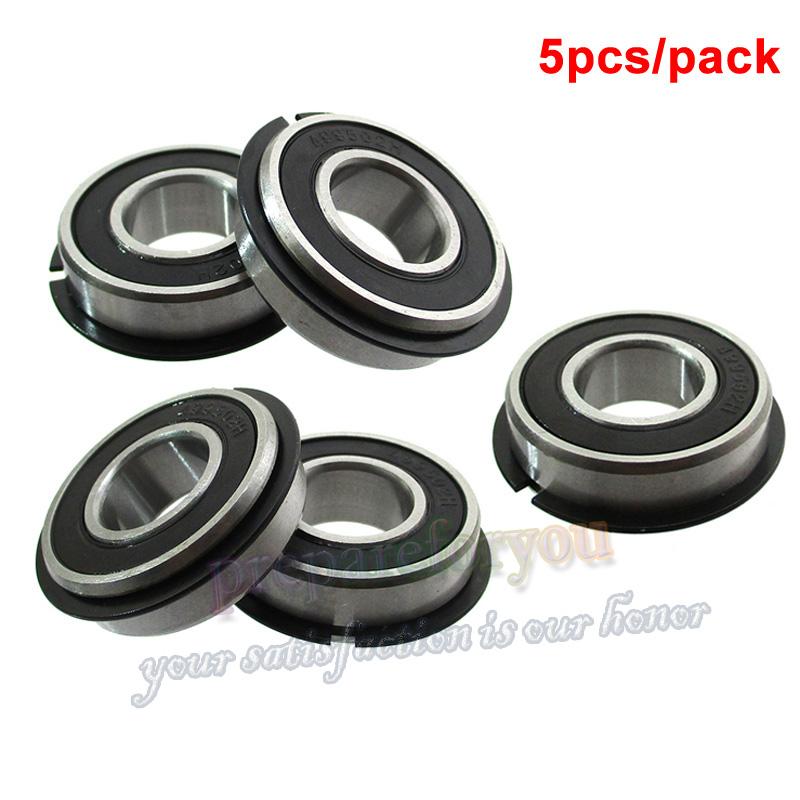 """Lesco 050357 Dixon 5028 5//8/"""" x 1 3//8 Wheel Bearings for Gravely 036778 4 Pack"""