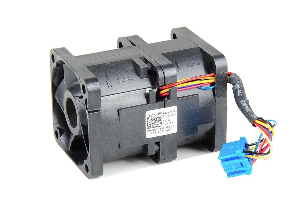 Dell PowerEdge R320 R620 Server Internal Case Cooling Fan Assembly F1YN7 14VG6