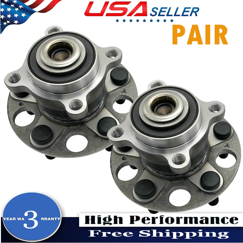 Rear Wheel Hub & Bearing Set Fits Acura TL FWD Base SH-AWD