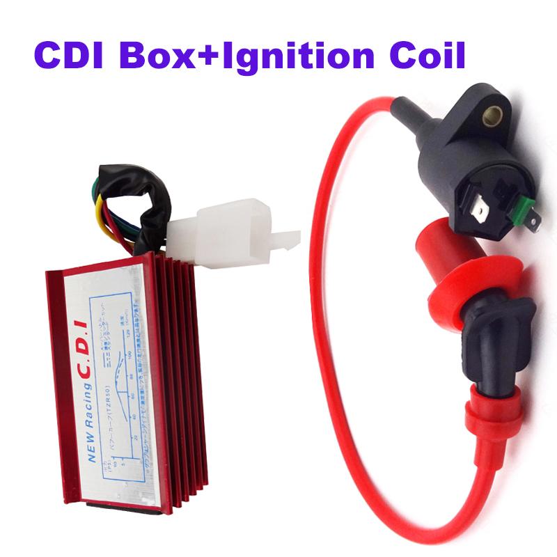 CDI Ignition Coil For Honda XR CRF 50 Dirt Pit Bike 70cc 90cc 110cc 125cc ATV