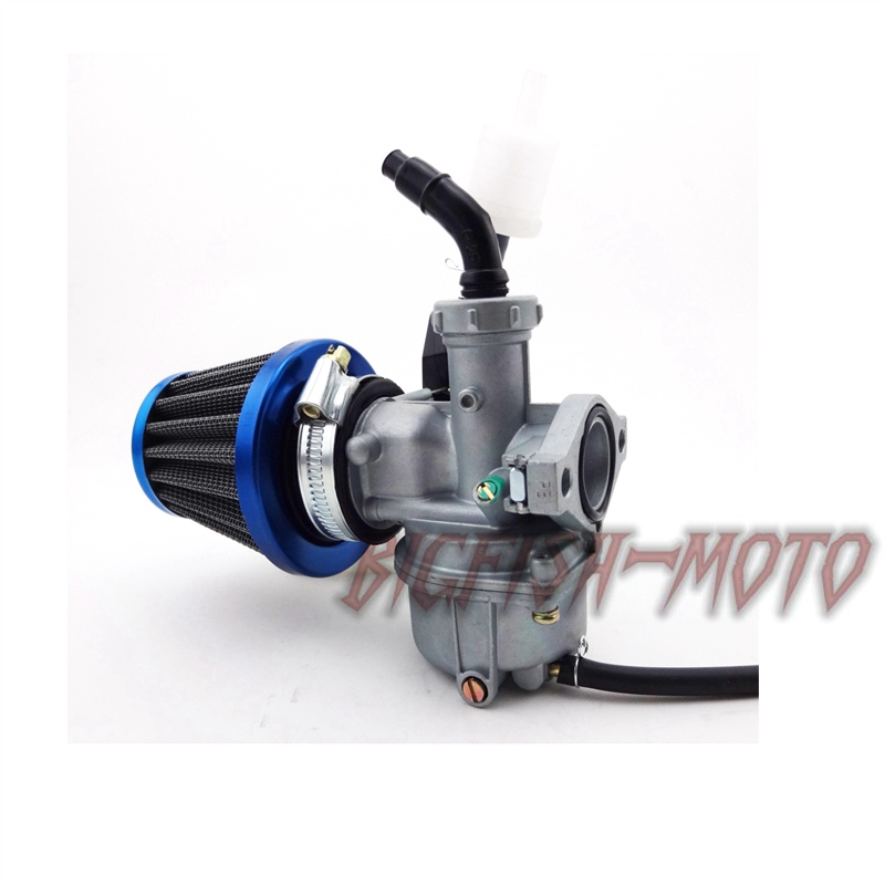 22mm Carburetor PZ22 Carb Filter For 110cc 125cc Quad Go Kart Pit Pro Dirt Bike