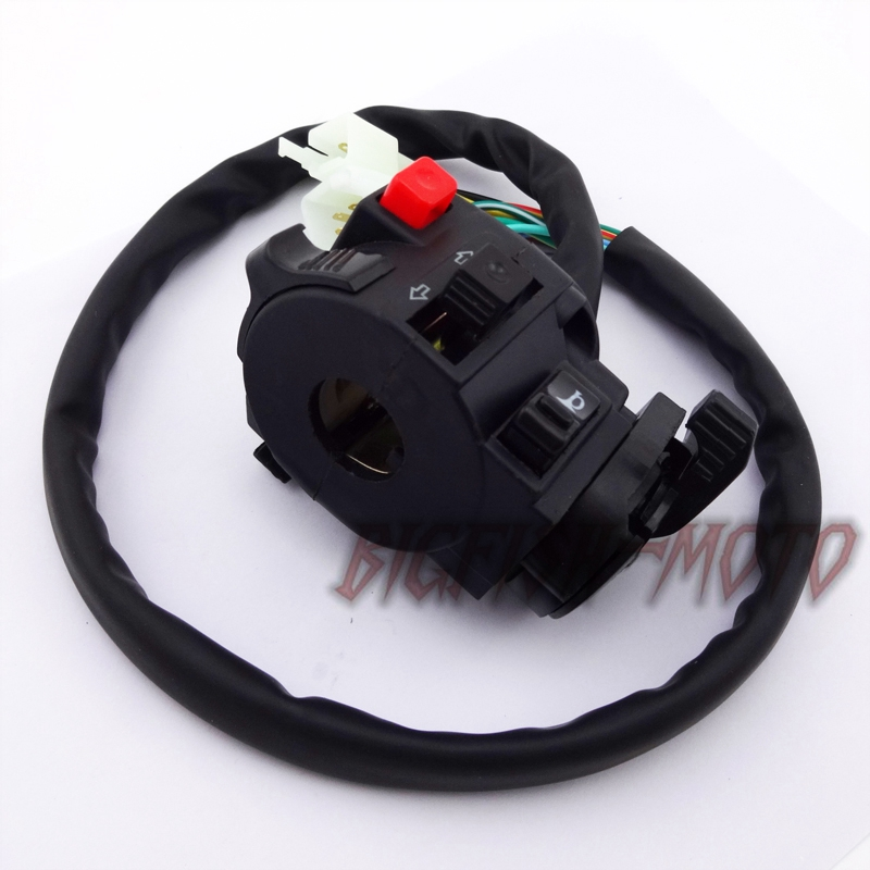 12 Wire Chinese Atv Handle Switch Choke Lever Assembly 110 125 150 200 250 Cc
