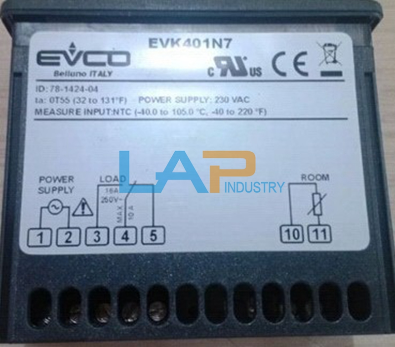 1PC New EVCO Temperature Controller EVK441N7VCBS