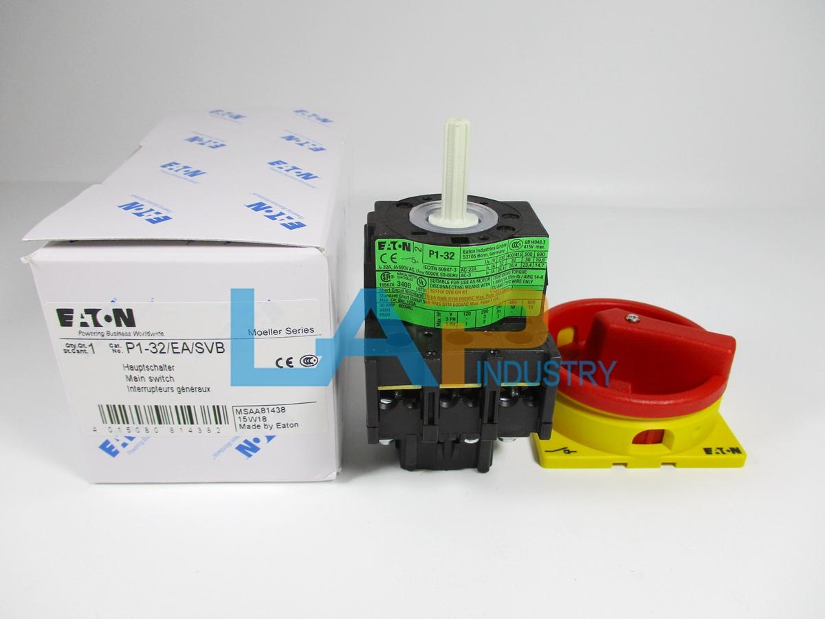 EATON P1-32//V//SVB CIRCUIT INTERRUPTER NIB