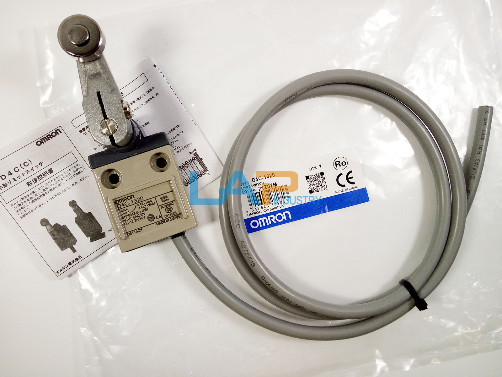 Fst  1PC NEW Omron  D4C-1620