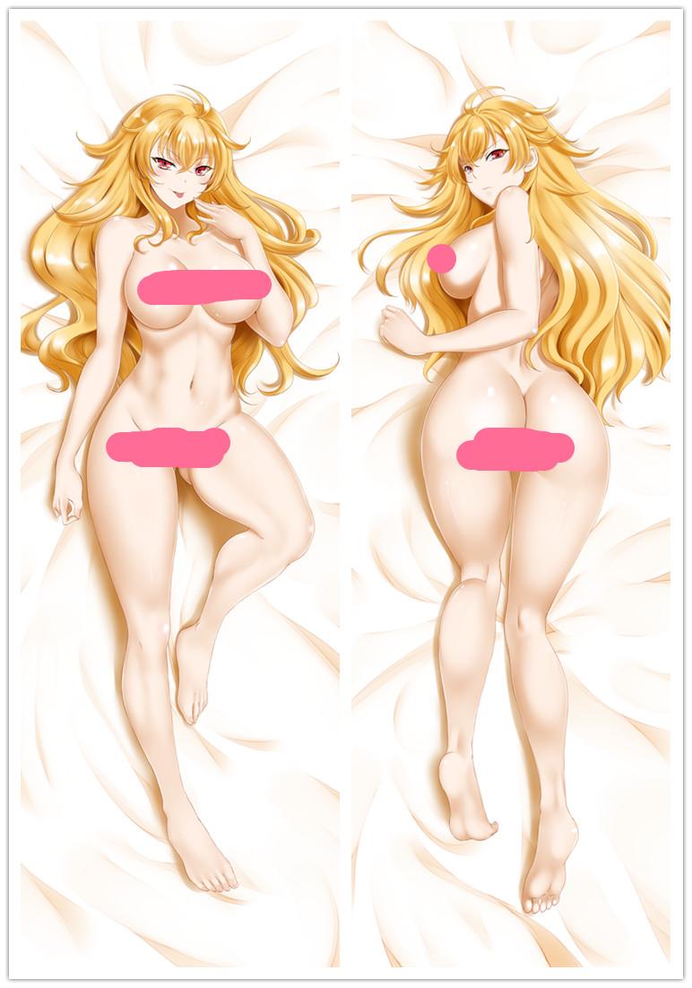 """150cm RWBY Yang Xiao Long Anime Dakimakura PillowCase Hugging Body Cover 59/"""""""