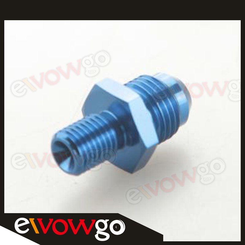 Details about  /AN6 AN-6 Male to M10x1.25 Straight Car Aluminum Alloy Fittings Adaptor