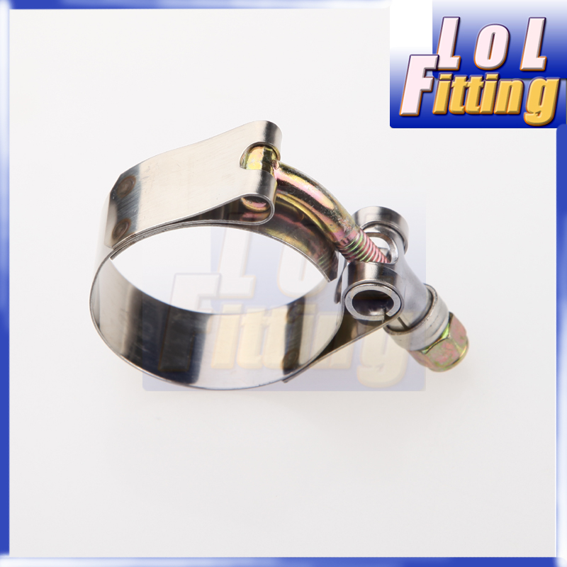 "Stainless Steel Intercooler Turbo Intake T Bolt Clamp 31-36mm 2 x 1/"" Range"
