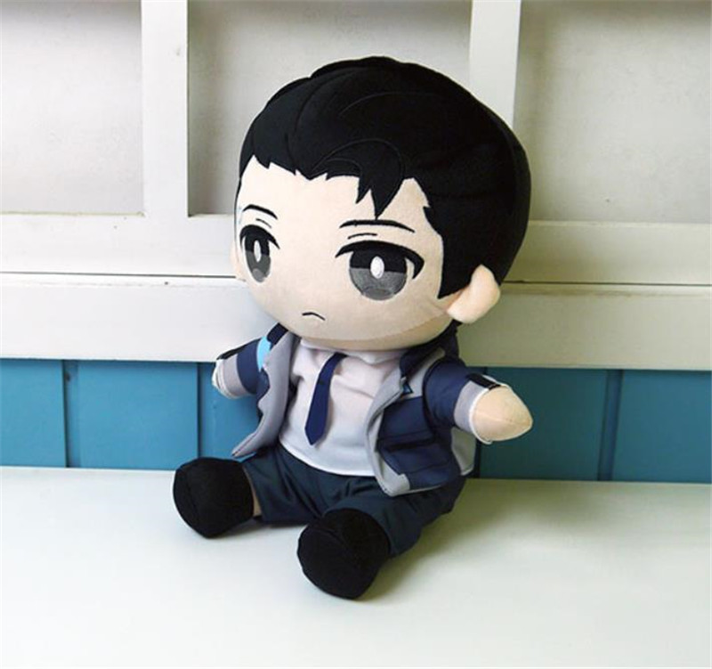 Detroit Become Human Conner Sitting position doll plush cosplay 2 Color